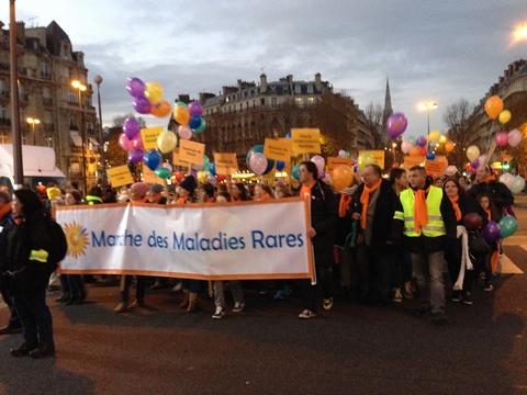 Marche des Maladies Rares